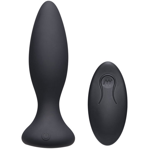 Vibe Beginner Vibrerende Buttplug - Zwart