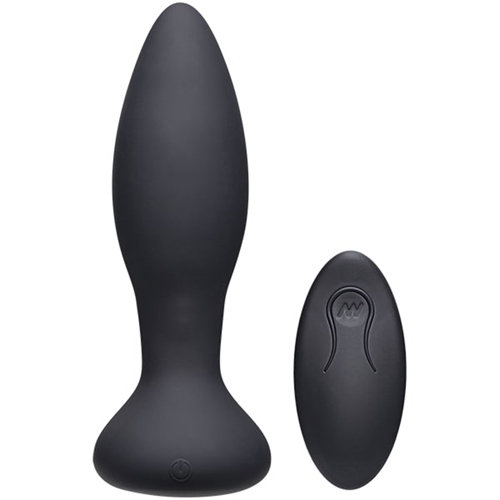 Vibe Experienced Vibrerende Buttplug - Zwart