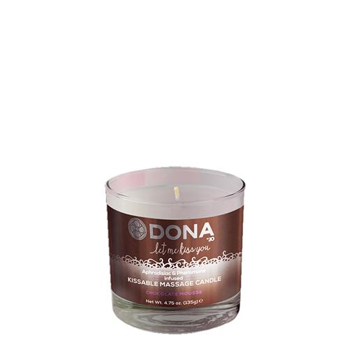 Dona Kissable Massage Candle Chocolate