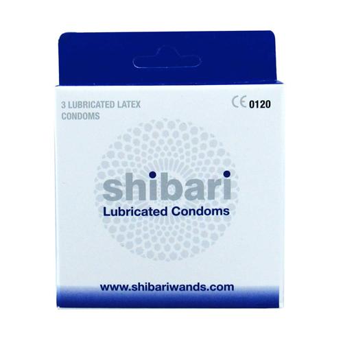 Shibari Condooms Met Glijmiddel - 3 Stuks