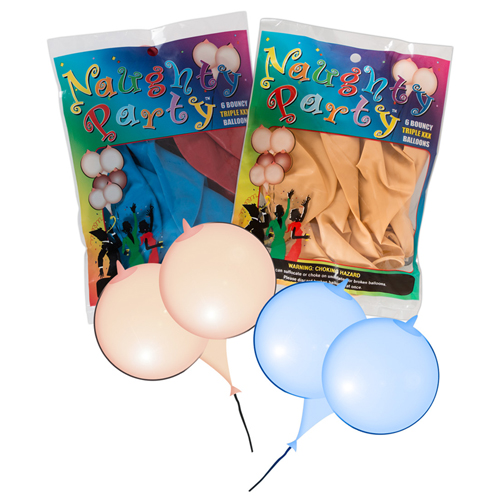 Boob Balloons - 6 Stuks