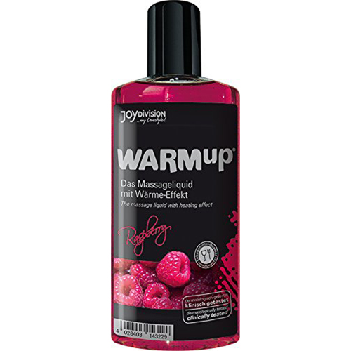 WARMup Massageolie Framboos - 150 ml