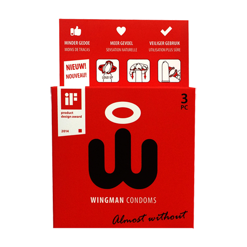 Wingman Condooms 3 Stuks