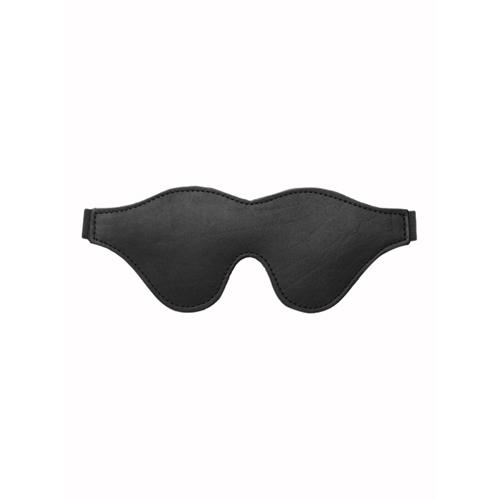 Strict Leather Black Fleece Lined Blindfold