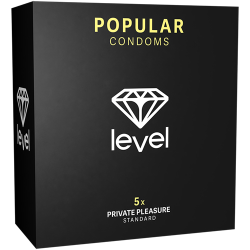 Popular Condooms - 5 Stuks