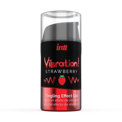 Vibration! Strawberry Tintelende Gel