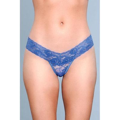 V-Cut Kanten String - Blauw