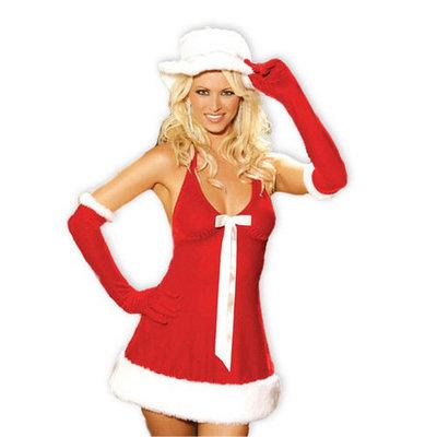 X-Mas halterjurkje set - Santa's Honey