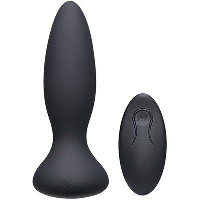Vibe Adventurous Vibrerende Buttplug - Zwart