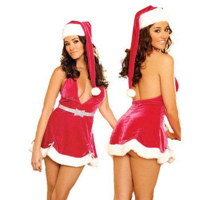 X-Mas jurkje en kerstmuts