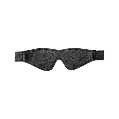 Leren Blinddoek - Zwart