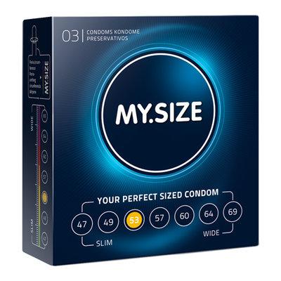 MY.SIZE 53 mm Condooms 3 stuks