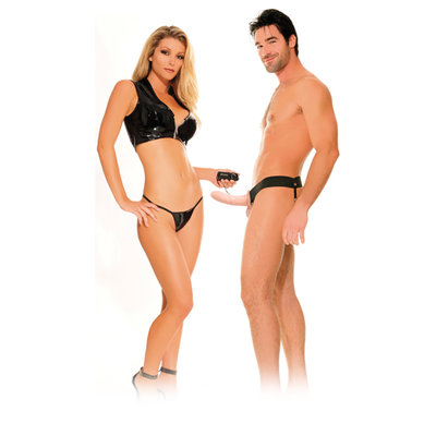 For Him or Her Vibrerende Holle Strap-On