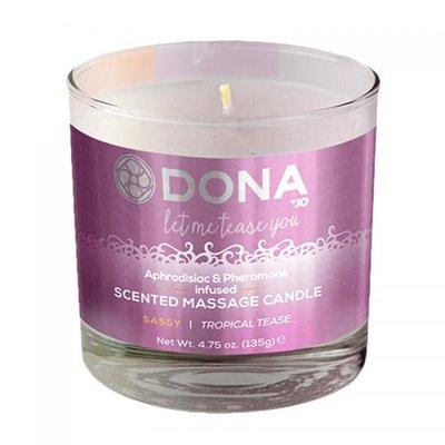 Dona Scented massage candle Sassy