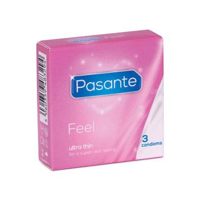 Pasante Feel Condooms - 3 stuks