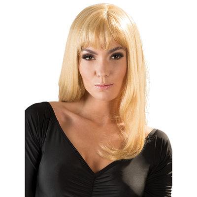 Platina blonde pruik