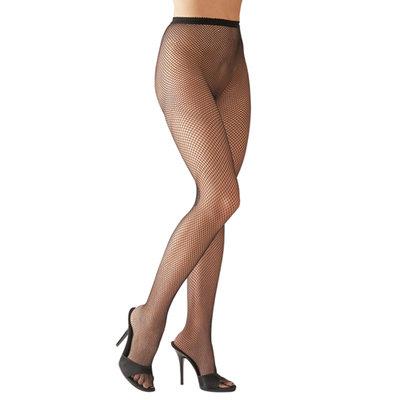Zwarte Net-Panty