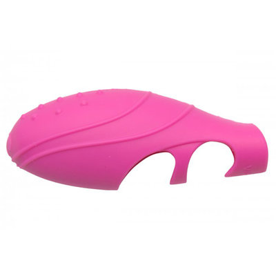 Siliconen G-Spot Vinger Vibrator - Roze