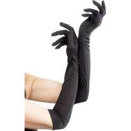 Lange Handschoenen – Zwart  – Fever