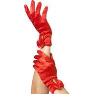 Handschoenen Met Strik – Rood  – Fever