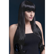Bella Pruik – Zwart  – Fever