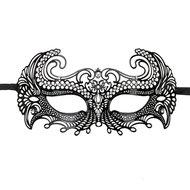 Easytoys Metalen Venetiaans Masker – Zwart  – Easytoys Fetish Collection