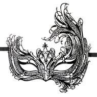 Easytoys Open Venetiaans Masker – Zwart  – Easytoys Fetish Collection