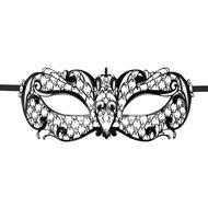 Easytoys Venetiaans Masker Metaal – Zwart  – Easytoys Fetish Collection