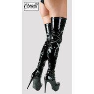 Zwarte Overknee Laarzen  – Cottelli Collection