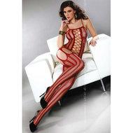 Almas Catsuit – Donkerrood  – Livia Corsetti Fashion
