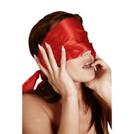 Rode lange sjaal
