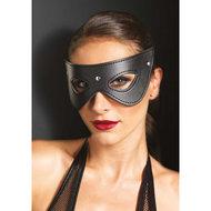 Kunstleren masker met studs  – Leg Avenue