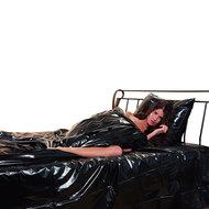 Lak dekbed overtrek zwart  – You2Toys
