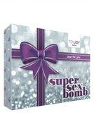 Super Sex Bomb Vibrator Cadeauset – Paars  – Toyjoy