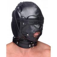 Bondage Masker Met Ball Gag Met Gaten  – Strict