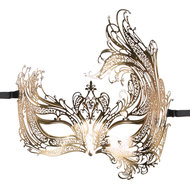 Easytoys Open Venetiaans Masker – Goudkleurig  – Easytoys Fetish Collection