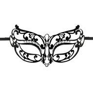 Easytoys Opengewerkt Masker Metaal – Zwart  – Easytoys Fetish Collection