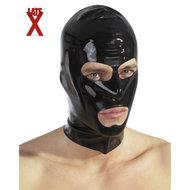 Zwart Latex Masker  – The Latex Collection