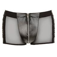 Kunstleren Boxer Met Netstof  – Svenjoyment Underwear