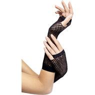 Zwarte visnet handschoenen  – Fever