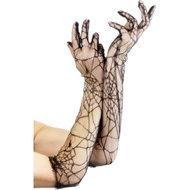 Handschoenen Met Spinnenwebprint  – Fever